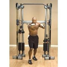 My favorite machine! Body Solid Functional Home Gym Weight Stack Training Center GDCC210 by Body Solid,