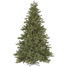 Vickerman 6.5 ft. Frosted Balsam Fir Pre-lit Christmas Tree - A141667LED