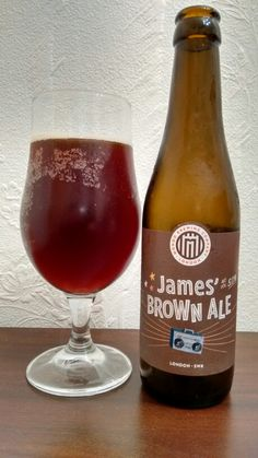 James' brown ale.  A London craft ale. A bit flat and smells not too great. Very dry and bitter taste witja burnt after taste. Not one of the bedt craft beers I had recently but ok enough.