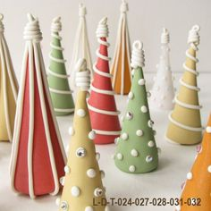 Polymer Clay Trees