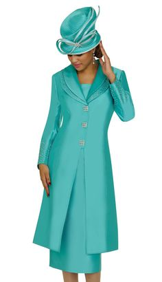N95542-SG-WE,Nubiano Ladies Church Suits Spring and Summer 2013