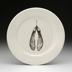 Laura Zindel Design - Dinner Plate: Maple Seed, $50.00 (http://www.laurazindel.com/dinner-plate-maple-seed/)