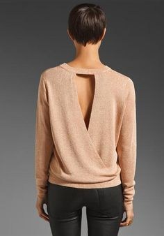 Open Back Sweaters