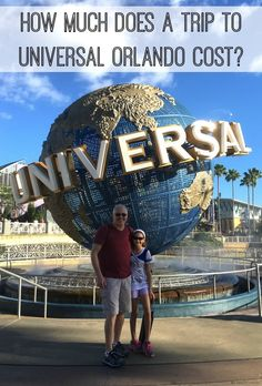 Universal Orlando budget -- wondering how much a trip to Universal Orlando really cost? See our detailed spending overview on flights, hotels, food, tickets and more. Plus, tips for saving money on your trip! #universal #universalorlando