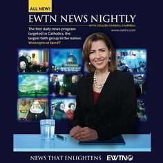 """Coming this fall! """"EWTN News Nightly,"""" the first daily news show targeted to Catholics!"""