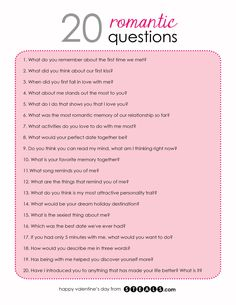20 Romantic Questions to help while building your friendship into a relationship Date Night Questions, Fun Questions To Ask, This Or That Questions, Questions To Get To Know Someone, Couple Quiz Questions, Interesting Questions To Ask, 21 Questions Game, Flirty Questions, Truth Or Dare Questions