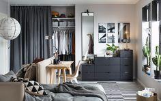 Clevere Ideen Für Ein Kleines Schlafzimmer. Das Modulare VALLENTUNA  Bettsofa Kannst Du Anordnen, Wie
