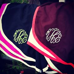 Monogrammed Norts! Yeahhh...I'd feel so cute running in these. And it's near impossible to look cute while running.
