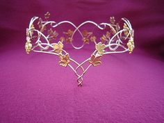 Crown of Leaves Crown of Leaves [] - $299.99 : Medieval Bridal Fashions, Circlets, Headpieces, Necklaces and Bracelets for your Renaissance, Celtic or Elven Wedding!