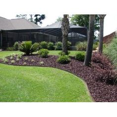 landscaping with mulch   ... mulch is much more durable and longer lasting than traditional mulch