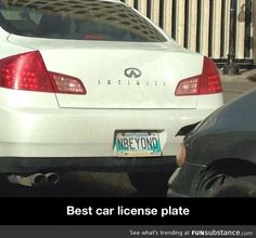 Best car license plate