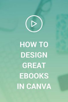 Canva Tutorial: How To Design eBooks And PDF's – you want your opt-in to look great and keep people interested, right? This video will give you three tips to help you get started.
