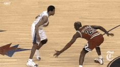 Top 10 Best NBA Crossover GIFs! #2 Allen Iverson (76ers). MJ didn't get his ankles broken but this is a classic. This is very early on in Iverson's prolific NBA career and shows why he always belonged with the greatest.