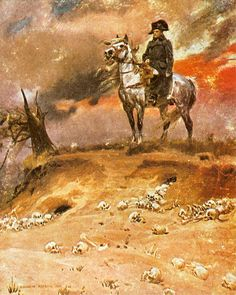 Vision of Napoleon by Wojciech Kossak