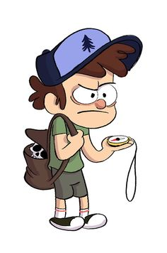 An early version of Dipper, looking a bit lost.