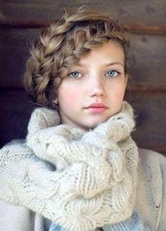 編み込みヘアー|おじゃかんばん