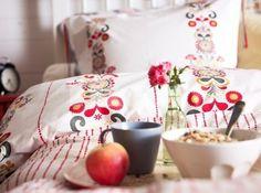 Ikea Duvet Cover AKERKULLA Scandinavian folklore - my new bed!!!!!!!!!!!!!!!!!!!!!!!!!1