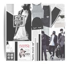 """1 Verse--- J-Hope"" by alicejean123 ❤ liked on Polyvore featuring Retrò, Buffalo, adidas, Oh My Love, ASOS, women's clothing, women, female, woman and misses"