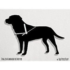 English Labrador Retriever Dog - Wall Clock