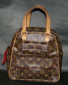 Authentic Louis Vuitton Monogram Excentri-cite Handbag Purse