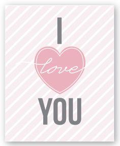 {Freebie} Valentine's Day Art Prints! - Pizzazzerie