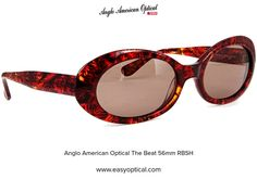 Anglo American Optical The Beat 56mm RBSH Aurora, Sunglasses, American, Style, Swag, Northern Lights, Sunnies, Shades, Outfits