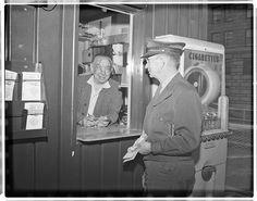 MCL - Olive St. Terminal circa 1955.