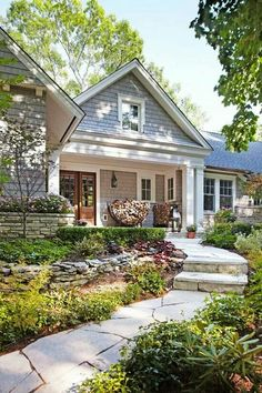 Love big front porches!