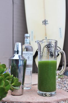 Cucumber Mint Margaritas | Laguna Beach Cocktail Recipes