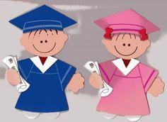 niños graduados de la web