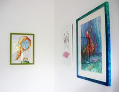 Mirror mirror on the wall, which is the prettiest of them all? - illustrations by Gratiela Aolariti Mirror Mirror, Illustrations, Watercolor, Traditional, Frame, Pretty, Wall, Home Decor, Pen And Wash