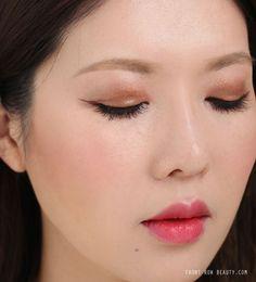 charlotte-tilbury-luxury-eyeshadow-palette-the-dolce-vita-review-swatch-fotd-3 on Asian eyes