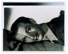 John Stezaker - Marriage (Film Portrait Collage) I  - The Approach