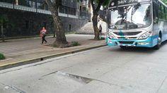 Conductores molestos por hundimiento en San José