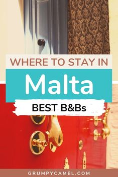 Not sure where to stay in Malta? In this Malta accommodation guide, I recommend 20 amazing B&Bs and boutique hotels in traditional Maltese towns, such as Rabat, Mosta and Birgu. I suggest some beautiful places to stay in Gozo. Check them out! Road Trip Europe, Europe Travel Guide, Travel Guides, Europe Budget, Budget Travel, Travel Destinations, European Destination, European Travel