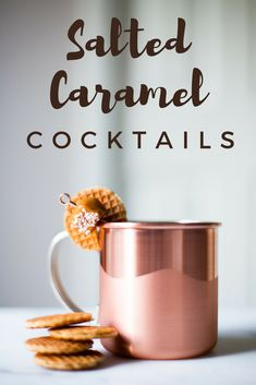 These Salted Caramel Cocktails are the ultimate fall treat-yourself moment | the INSPIRED home
