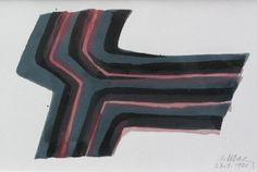 """Whose Logo is This? Raoul Ubac - """"Composition abstraite 2"""", 1978  Technique - None (probably lithograph)  Dimension de l'image 0,0 x 0,0 cm / 0.0 x 0.0 in  Dimension du Papier 13,0 x 19,0 cm / 5.1 x 7.5 in"""