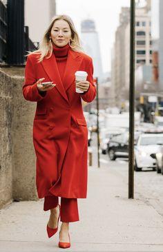 New York City Fashion Week Street Style