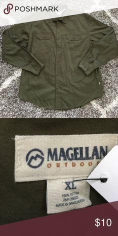 Men's Magellan Button Down Shirt In excellent condition Magellan  Shirts Casual Button Down Shirts