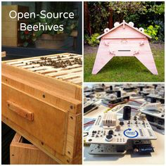 Smart open-source beehives equipped with smart citizen IoT sensors to track colony health and promote bee recovery.