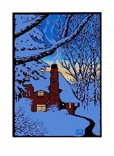 Laura Wilder cards - The Gloaming