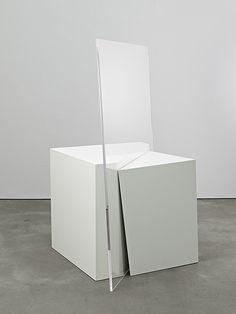Natalia Stachon - VERTIGO, 2008 , sculpture (painted wood, Plexiglas)