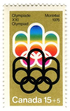 Canada Postage Stamp: 1976 Olympics in Montreal by karen horton