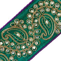 Royal Tape Beaded Apparel Ribbon Trim Green Embroidered Lace By 1 Yard: Amazon.co.uk: Kitchen & Home Love Coupons, Furniture Deals, Matching Shirts, Embroidered Lace, Sweater Shirt, White Tees, Ribbon, Coupon Websites, Creative