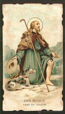 San Roque, santo de los perros.