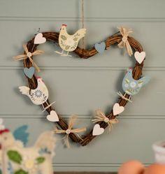 gisela-graham-rustic-spring-chicken-heart-wreath