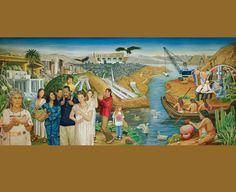 Metro Water District Mural by Eloy Torrez