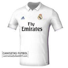Primera camiseta de Real Madrid 2016 2017 | camisetas de futbol baratas