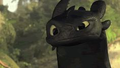 This is the cutest GIF I have ever seen. I love Toothless