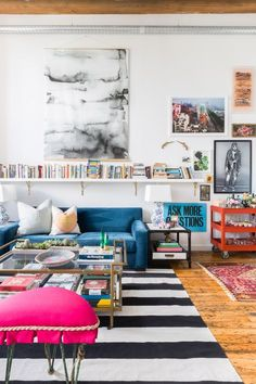 This Nashville Loft Is a Lesson in Eclecticism via @MyDomaine